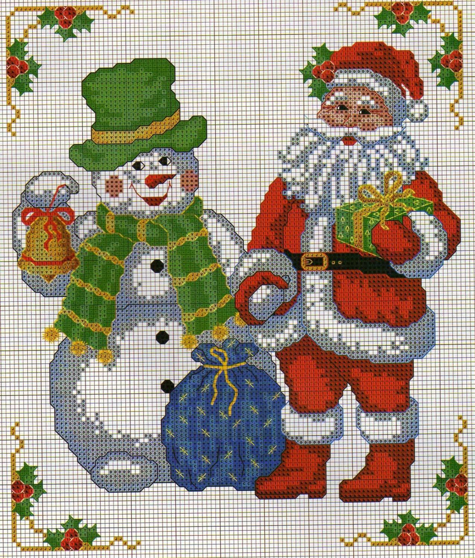 Картинки для вышивки с новым годом